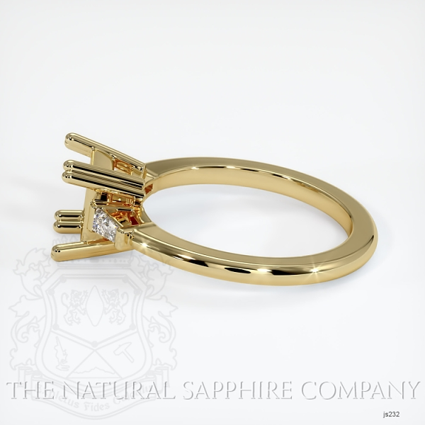 Split Prongs Multi Stone Ring Setting JS232 Image 3