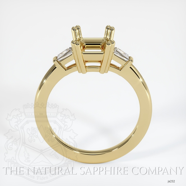 Split Prongs Multi Stone Ring Setting JS232 Image 4