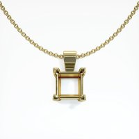 14K Yellow Gold Pendant Setting - JS238Y14