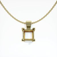 18K Yellow Gold Pendant Setting - JS238Y18