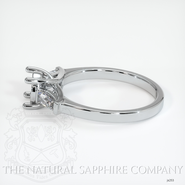 Trellis Three-Stone Ring - Tapered Baguette Diamonds JS253 Image 3