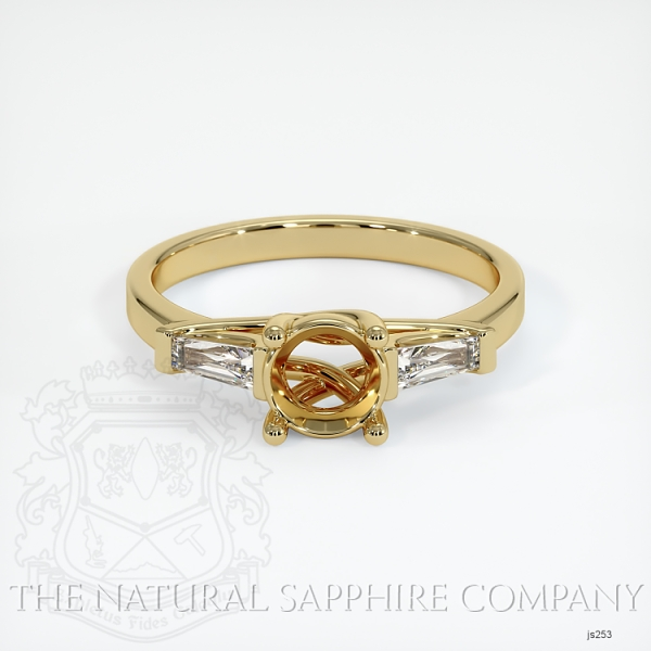 4 Prong Multi Stone Ring Setting JS253 Image 2