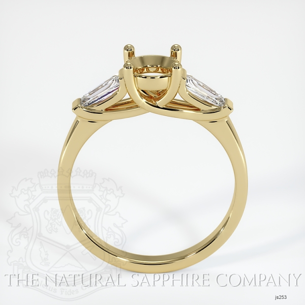 4 Prong Multi Stone Ring Setting JS253 Image 4