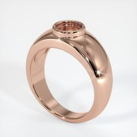 14K Rose Gold Ring Setting - JS26R14