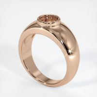 18K Rose Gold Ring Setting - JS26R18