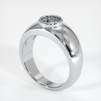 14K White Gold Ring Setting - JS26W14
