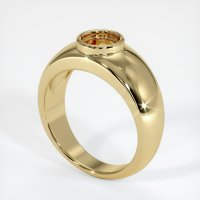 14K Yellow Gold Ring Setting - JS26Y14