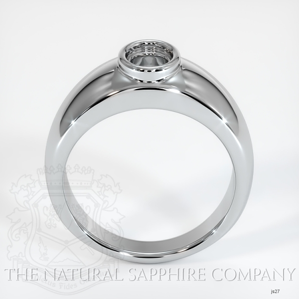 Bezel Set Solitaire Ring Setting JS27 Image 4