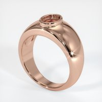 14K Rose Gold Ring Setting - JS27R14