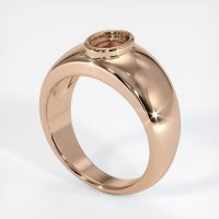 18K Rose Gold Ring Setting - JS27R18