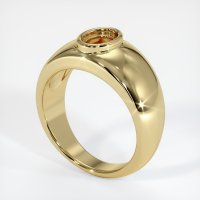 14K Yellow Gold Ring Setting - JS27Y14