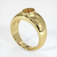 18K Yellow Gold Ring Setting - JS27Y18