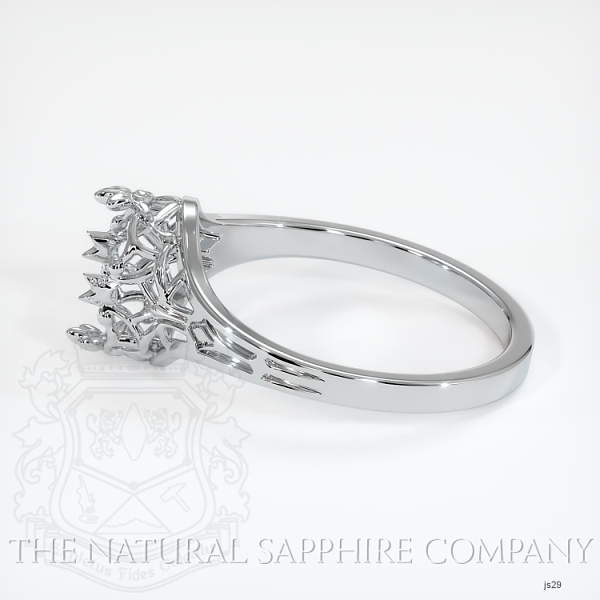 Antique Style Solitaire Ring Setting JS29 Image 3