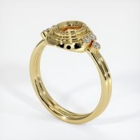 18K Yellow Gold Ring Setting - JS305Y18