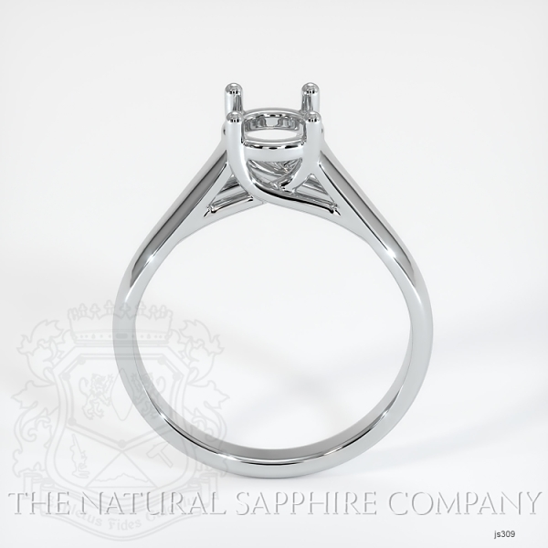 4 Prong Solitaire Trellis Setting - Wide Band JS309 Image 4