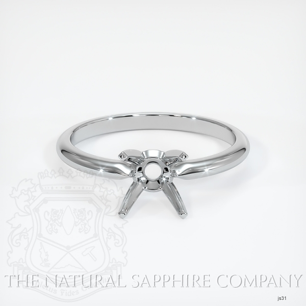 4 Prong Solitaire Ring Setting JS31 Image 2