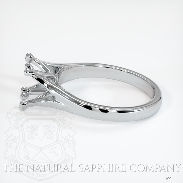 Split Prong Solitaire Ring Setting JS35 Image 3