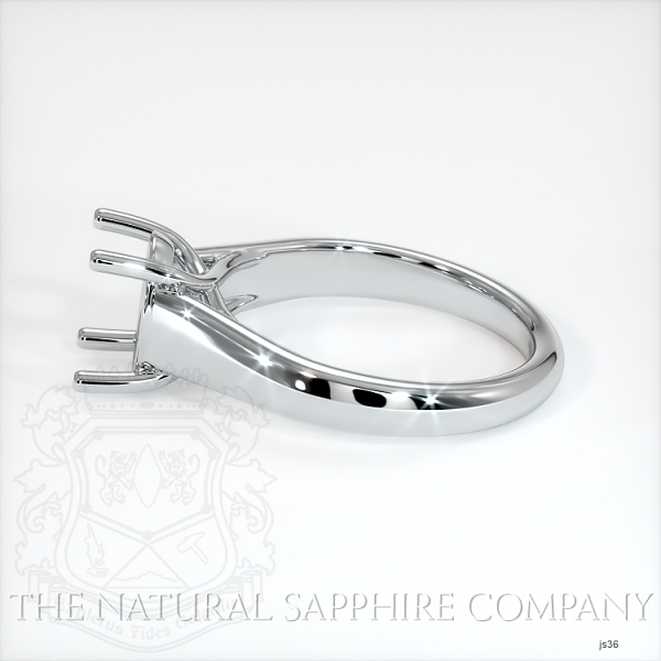 4 Prong Solitaire Trellis Setting - Wide Band JS36 Image 3
