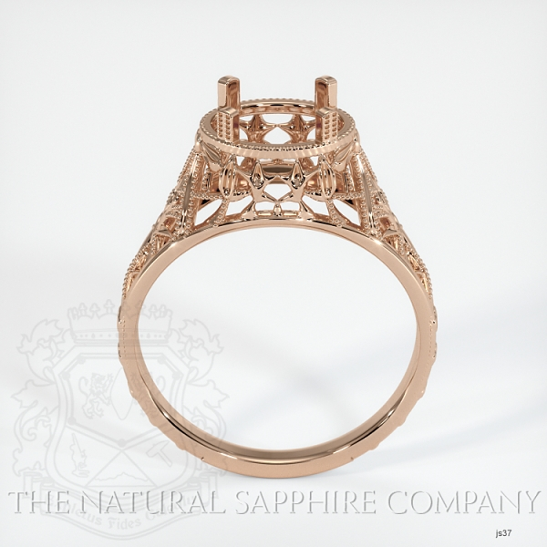 Antique Style Solitaire Ring JS37 Image 4