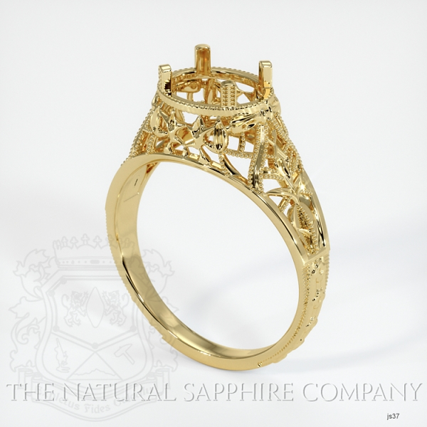 Antique Style Solitaire Ring JS37 Image
