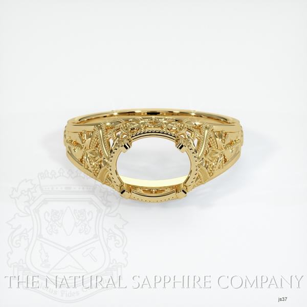 Antique Style Solitaire Ring JS37 Image 2