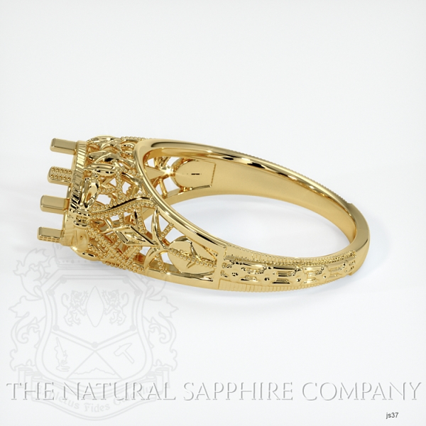 Antique Style Solitaire Ring JS37 Image 3