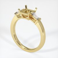 18K Yellow Gold Ring Setting - JS390Y18