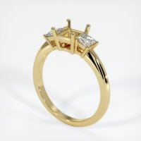 18K Yellow Gold Ring Setting - JS396Y18