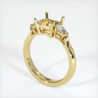 18K Yellow Gold Ring Setting - JS398Y18