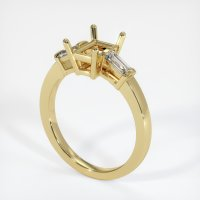 18K Yellow Gold Ring Setting - JS400Y18