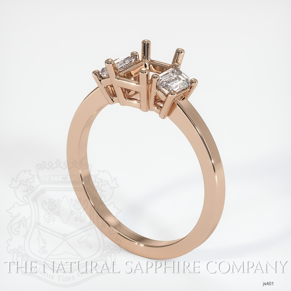 4 Prong Multi Stone Ring Setting JS401 Image
