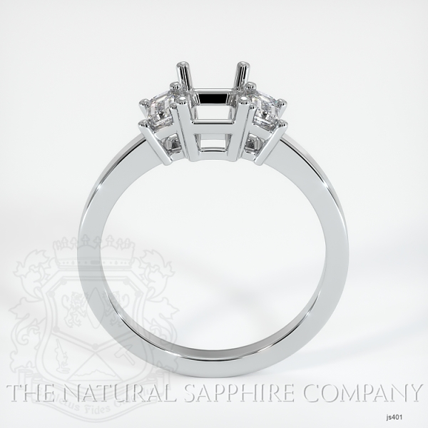 4 Prong Multi Stone Ring Setting JS401 Image 4