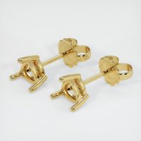 18K Yellow Gold Earring Setting - JS446Y18