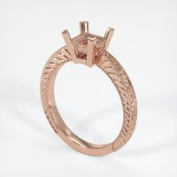 14K Rose Gold Ring Setting - JS466R14