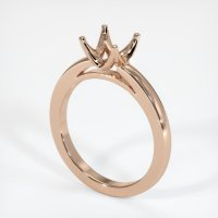 18K Rose Gold Ring Setting - JS594R18