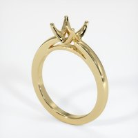 14K Yellow Gold Ring Setting - JS594Y14