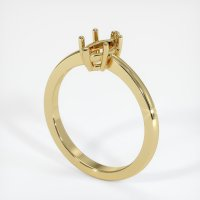 18K Yellow Gold Ring Setting - JS600Y18