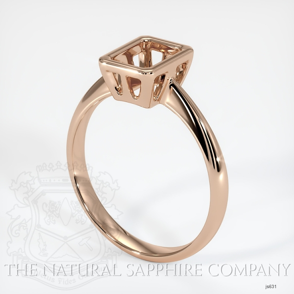Bezel Set Solitaire Ring Setting JS631 Image
