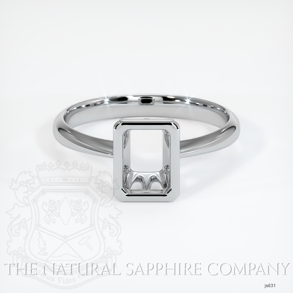 Bezel Set Solitaire Ring Setting JS631 Image 2