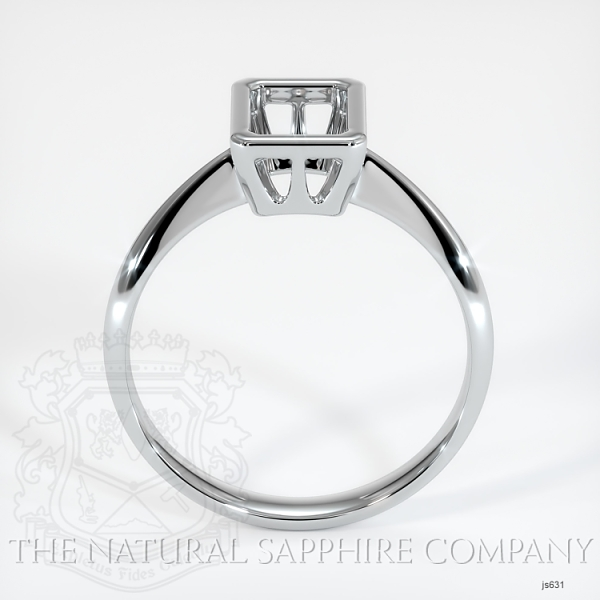 Bezel Set Solitaire Ring Setting JS631 Image 4