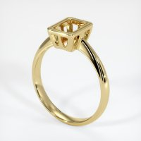 18K Yellow Gold Ring Setting - JS631Y18