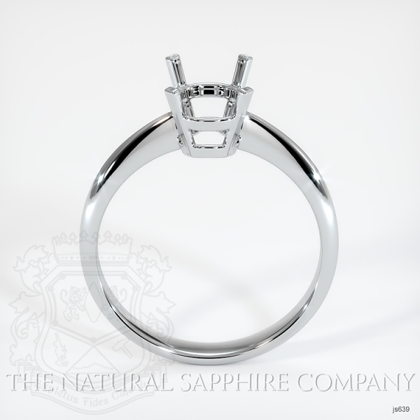 4 Prong Solitaire Ring Setting JS639 Image 4