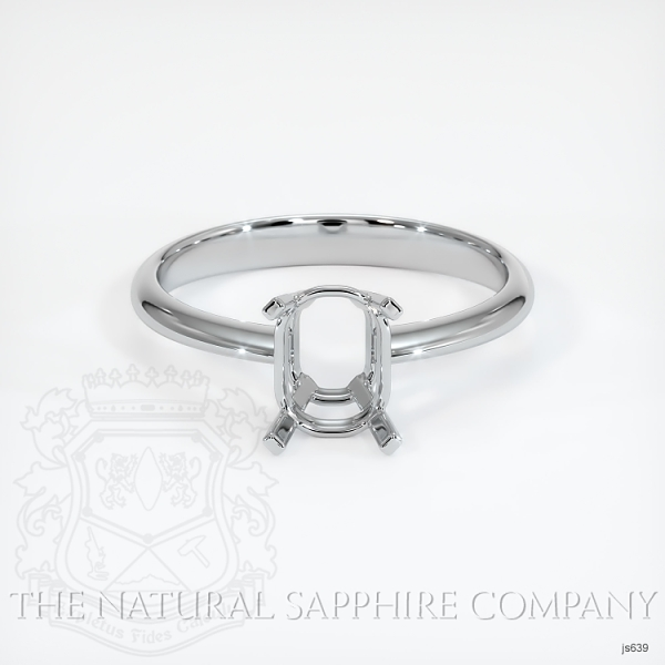 4 Prong Solitaire Ring Setting JS639 Image 2