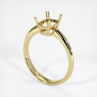 18K Yellow Gold Ring Setting - JS639Y18