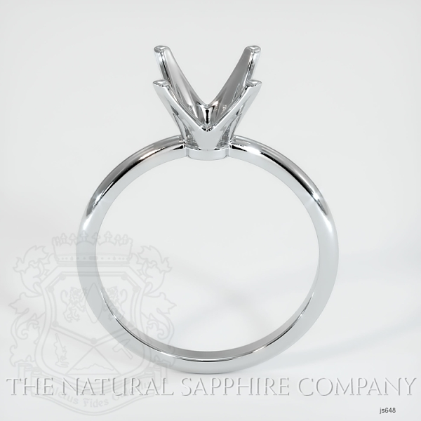 4 Prong Solitaire Ring Setting JS648 Image 4