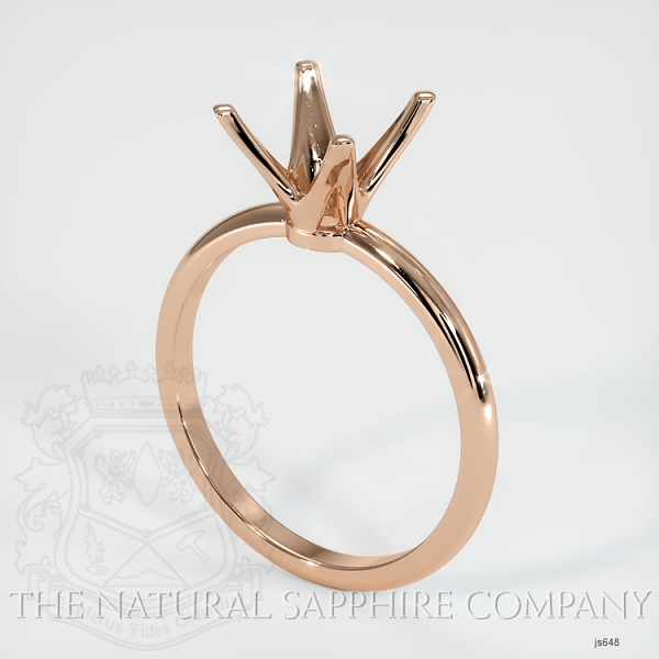 4 Prong Solitaire Ring Setting JS648 Image