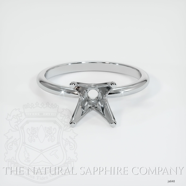 4 Prong Solitaire Ring Setting JS648 Image 2