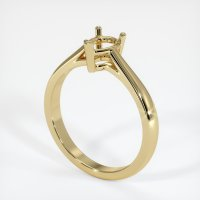 14K Yellow Gold Ring Setting - JS662Y14