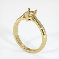 18K Yellow Gold Ring Setting - JS662Y18