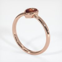 14K Rose Gold Ring Setting - JS663R14